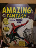 Spider-man Amazing Fantasy Issue #15 Marvel Comics Silver Buffalo Wall Art