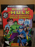 "Hulk ""What If' Issue #2 Marvel Comics Silver Buffalo Wall Art"