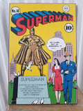 Superman Issue #16 DC Comics Silver Buffalo Wall Art