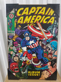 Captain America Marvel Comics Silver Buffalo Album Issue Wall Art