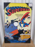 Superman #13 DC Silver Buffalo Wall Decor DC