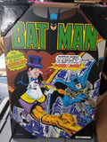 Batman with Penguin DC Comics Silver Buffalo Wall Art