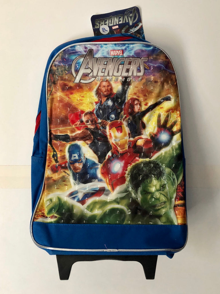 Marvel Avengers Assemble Kids Rolling Travel Bag