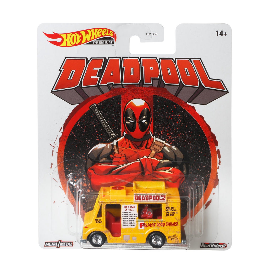 Hot Wheels Premium Deadpool Chimichanga Truck