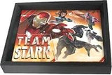 Civil war Team Stark Marvel Super Hero 3-D Shadowbox / Wall Decor