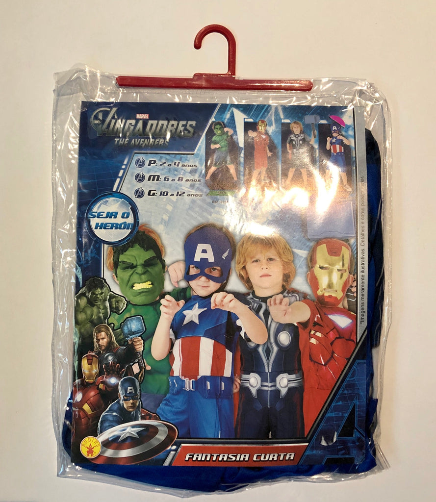 Marvel Avengers Captain America Kids Costume w/ mask, Rubies.