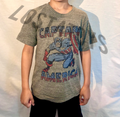 Junk Food Kids Captain America Vintage T-Shirt