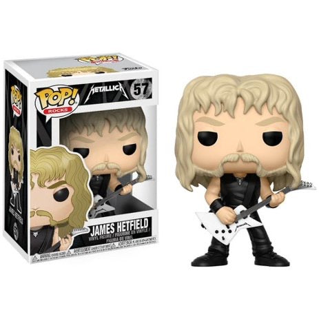 Funko POP! Rocks James Hetfield Metallica Vinyl Figure