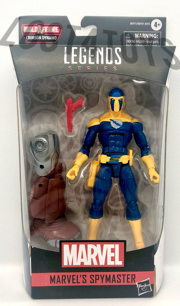 Hasbro Marvel Legends Marvel's Spymaster Action Figure w/ Crimson Dynamo BAF
