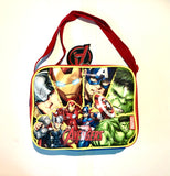 Marvel Avengers insulated wide lunchbox