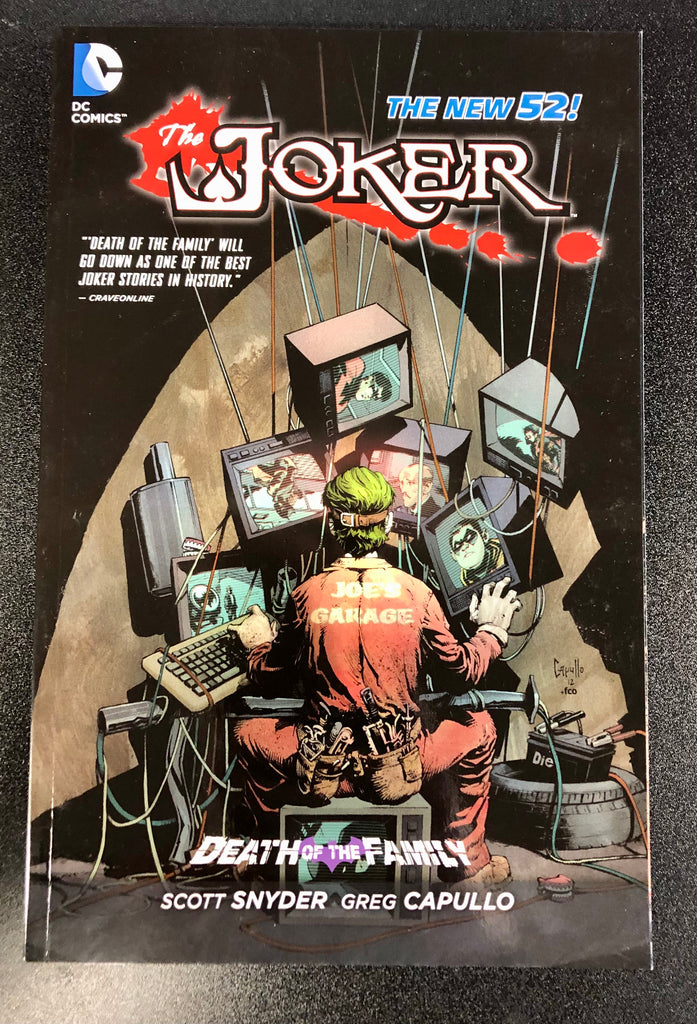 DC Comics The Joker 'Death of the Family' Trade Paperback