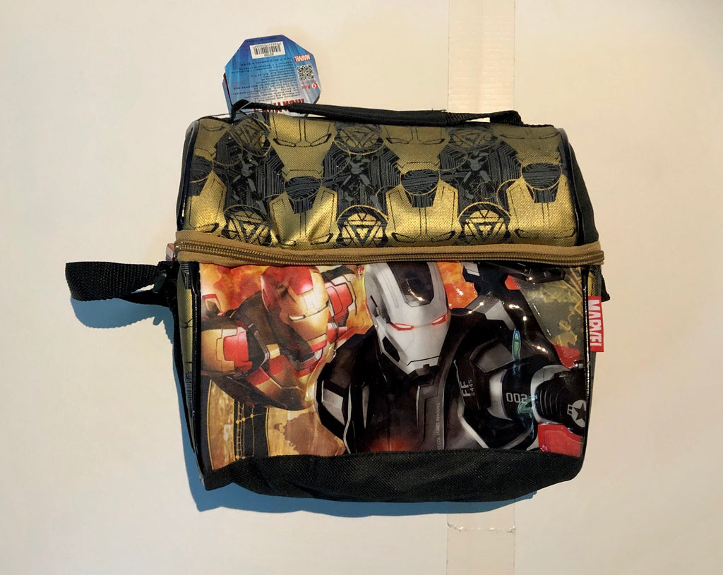Marvel Iron Man and War Machine Lunchbox/tote insulated