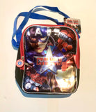 Marvel Captain America Civil War insulated wide lunchbox