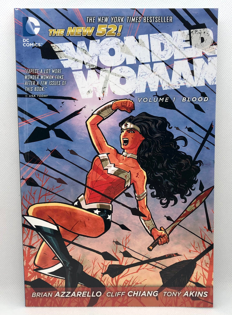 DC The New 52 Wonder Woman Volume 1 Trade Paperback