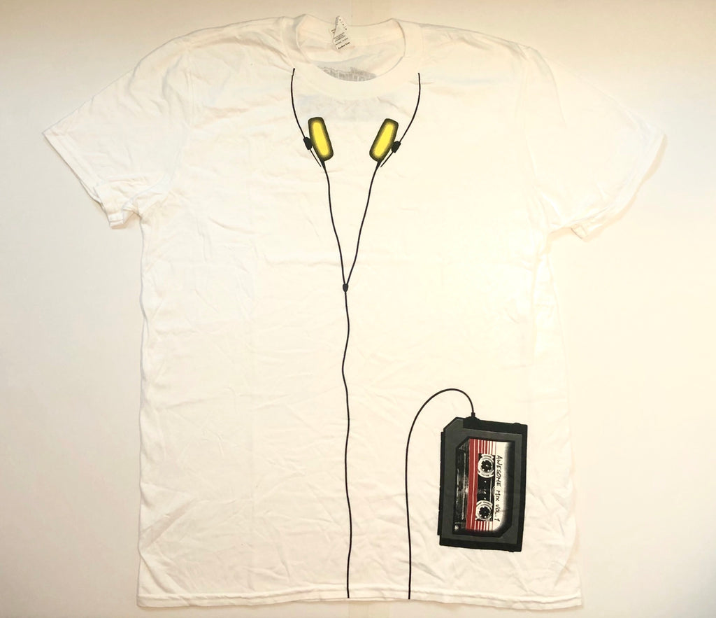 Marvel Quill Walkman T-Shirt, NYCC Exclusive