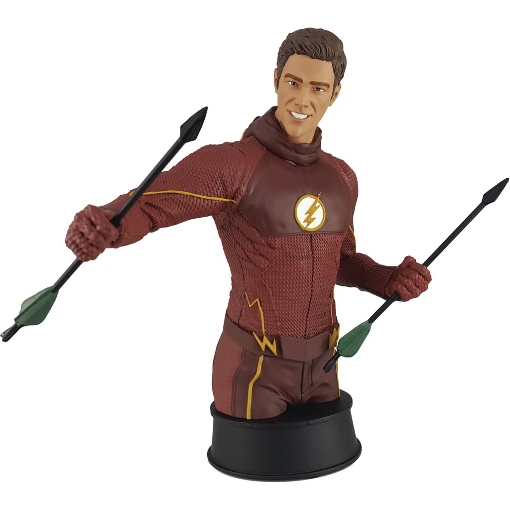 DC Icon Heroes TV Series: the Flash Training with Oliver Polystone Bust