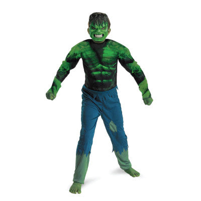 INCREDIBLE HULK CHILDREN'S COSTUME | SIZE 7-8
