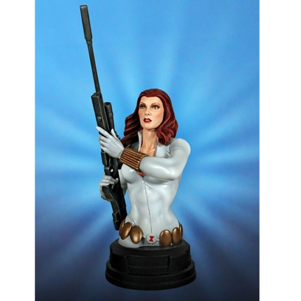 "Black Widow Avengers Winter Stealth 7"" Mini Bust Gentle Giant"