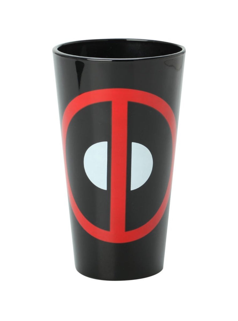 Deadpool Logo 16 Oz. Marvel Pint Glass