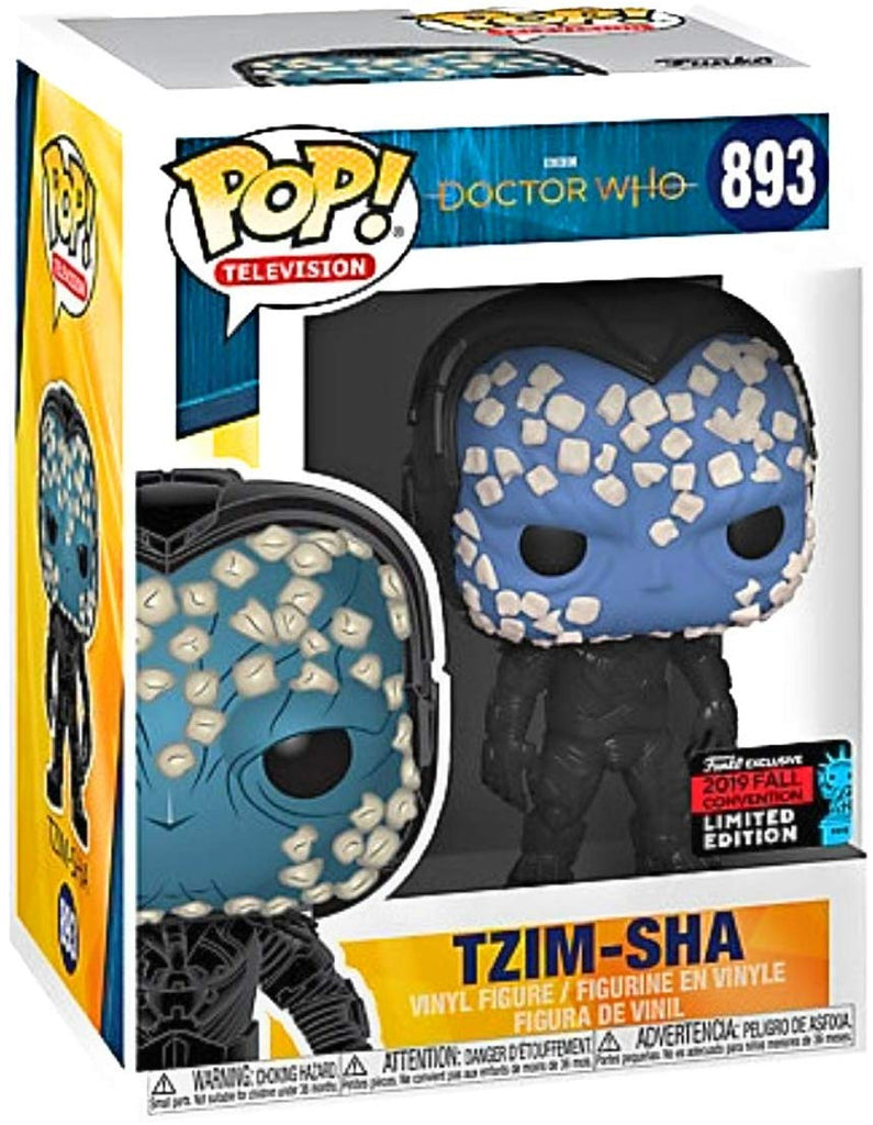 Funko Pop! Doctor Who #893 Tzim Sha 2019 Fall Convention Exclusive