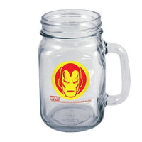 Officially Licensed Marvel Avengers Mason Jar IRON MAN