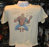 "Spider-man ""I'm Postin This""Junk Food Adult T-Shirt"
