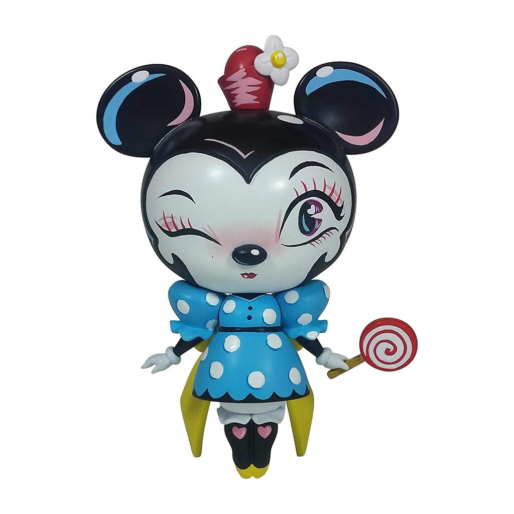 Enesco World of Miss Mindy Presents Disney Designer Collection Minnie Mouse Vinyl Figurine, 7""