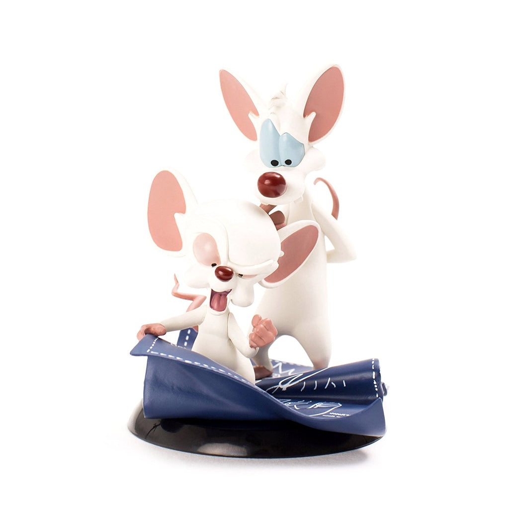 QMx Warner Brothers Animated Pinky & the Brain Q-Fig Figure