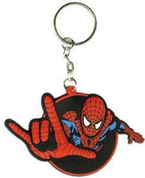 Marvel Comics SPIDER-MAN Action Pose Rubber KEYCHAIN