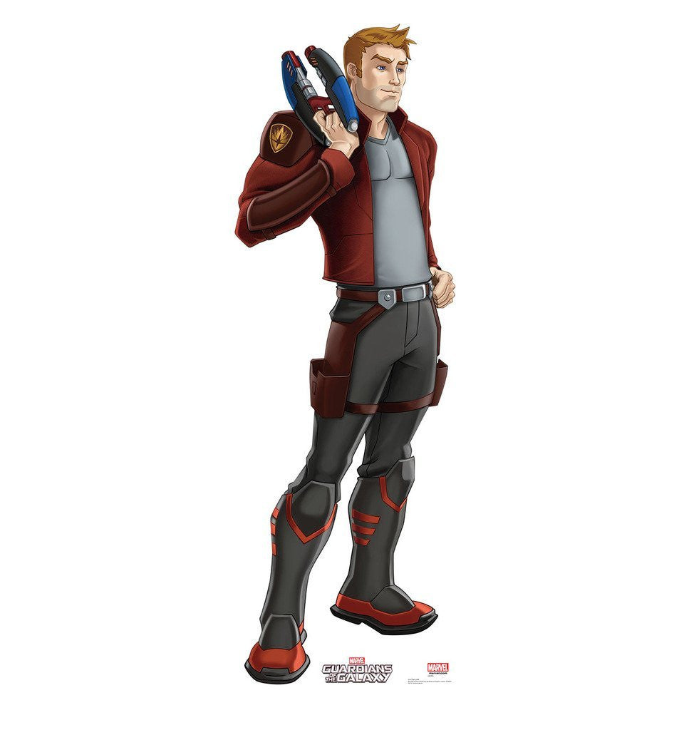 Star-Lord - Guardians of the Galaxy (TV Series) - Advanced Graphics Life Size Cardboard Standup
