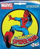 Marvel Comics The Amazing Spiderman Die Cut Sticker