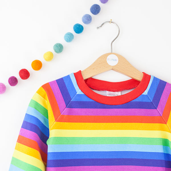 Rainbow mama medley ladies sweater
