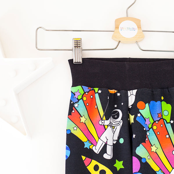 Party planets spaceman Mini Medley exclusive baby / children's trousers