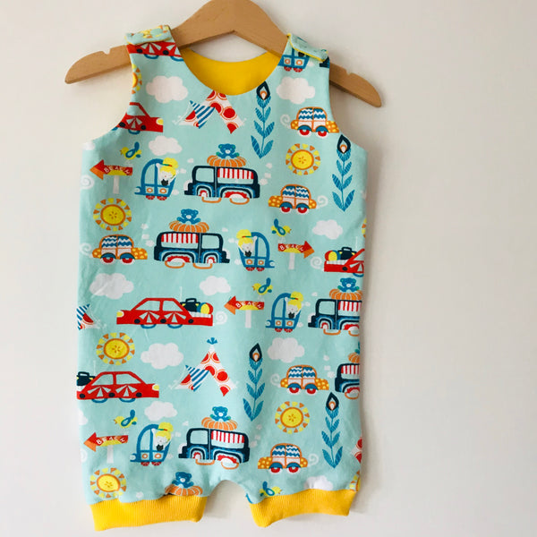 1-2 years Organic summer cars summer dungarees