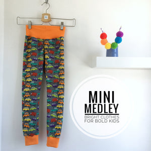 Bright cars babies / children's leggings
