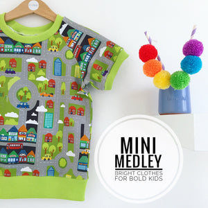 About town babies / children's t-shirt