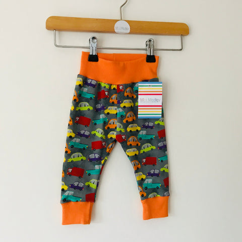 Bright car baby leggings