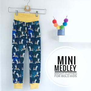 Space llama babies / children's leggings
