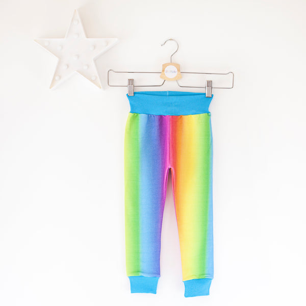 Rainbow fade baby / children's legging trousers