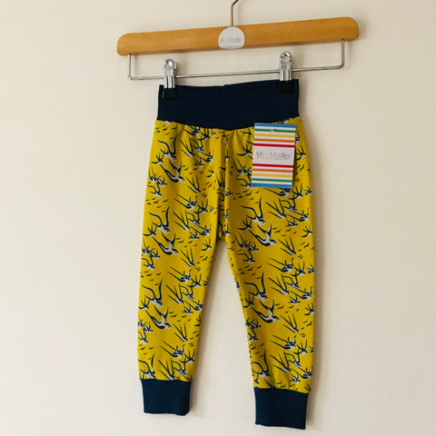 6-12 months Swallow baby / children's leggings