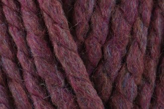 Plum seriously chunky yarn