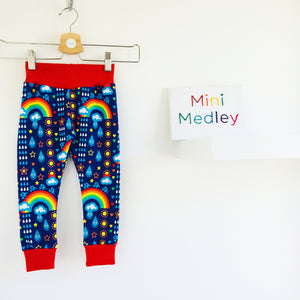 Rainbowphant custom leggings