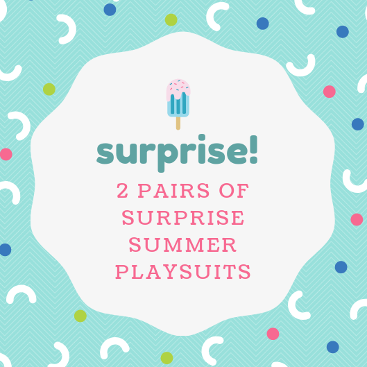 Surprise summer playsuit club
