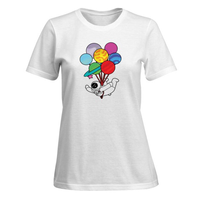 Party Planet print mama medley tee