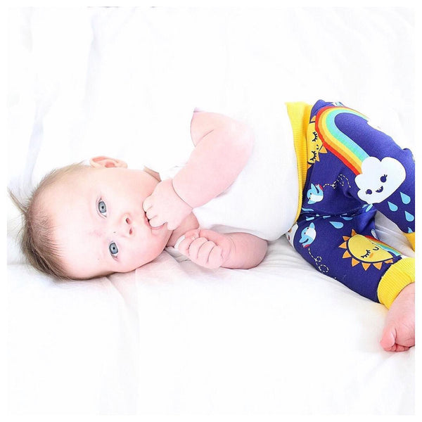 Swallows & rainbow exclusive Mini Medley trousers, baby / children's harems