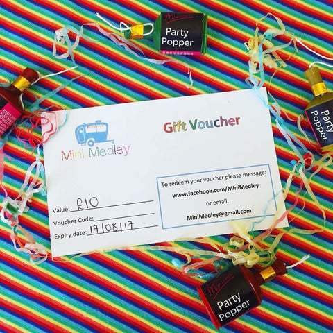Mini Medley gift voucher