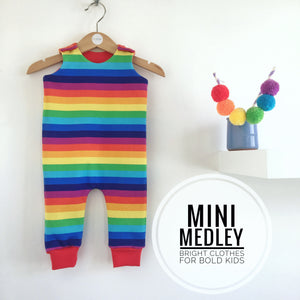 Rainbow baby / children's dungarees