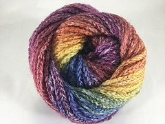 Ella Rae rainbow variegated wool