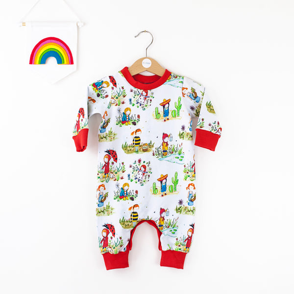 Play outside babies romper