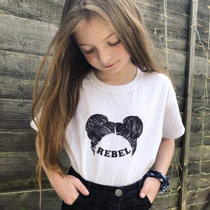 Rebel Mini Medley print children's t-shirt